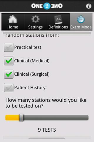 OSCE Trainer - screenshot