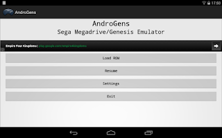 Screenshot of AndroGens