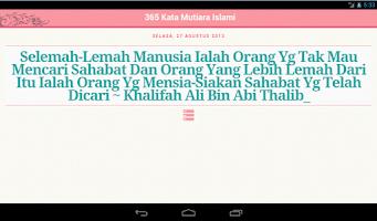 Screenshot of 365 Kata Mutiara Islam