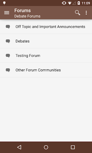 Debate Forums