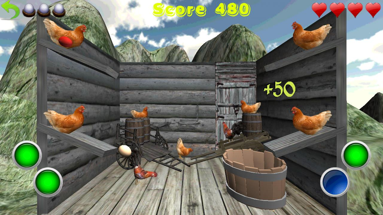 Crazy Eggs 3D- screenshot