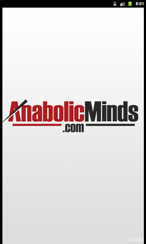 AnabolicMinds.com - screenshot