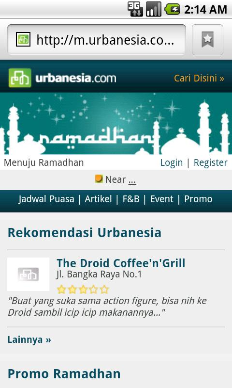 Urbanesia Ramadhan - screenshot