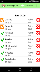 Shopping List Pro screenshot 0