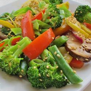 Stir Fried Wok Vegetables.