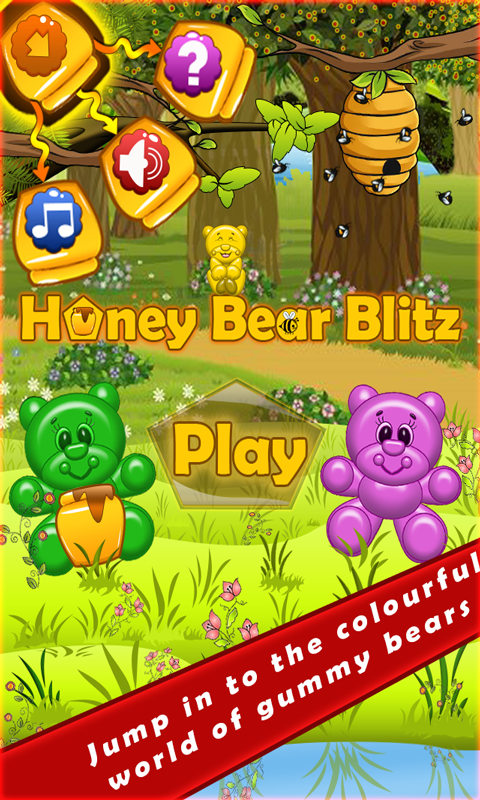 Honey Bear Blitz- screenshot