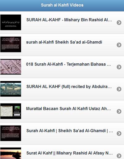 Surah al Kahfi Videos
