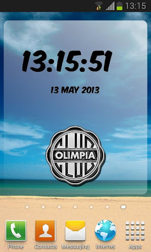 Olimpia Digital Clock