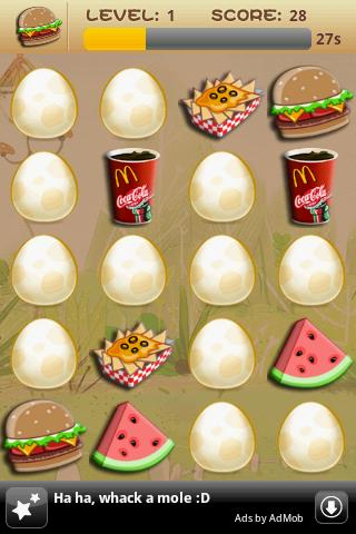 Memory Game For Kids-Fast Food - screenshot