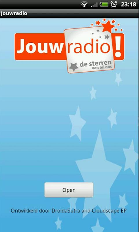 Jouwradio: screenshot