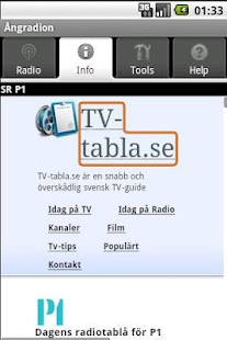 Ångradion (gratisapp)- screenshot thumbnail