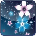 Glitter Of Blue & Pink Flowers icon