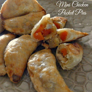 Mini Chicken Pocket Pies