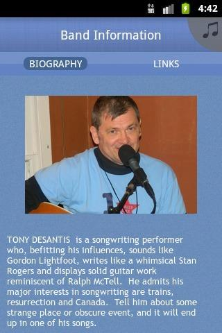 Tony DeSantis - screenshot
