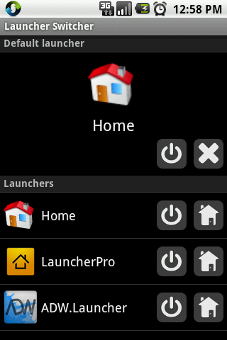 Launcher Switcher - screenshot