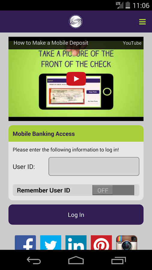 OECU Mobile- screenshot