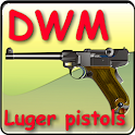 DWM made luger pistols icon