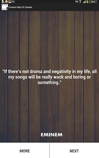 Eminem best 20 Quotes