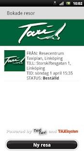 Taxibil i Östergötland- screenshot thumbnail