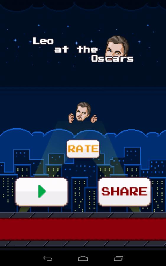 Leo at the Oscars- screenshot