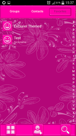 Pink Glow Dialer Theme 1.9.5 screenshot 1166858