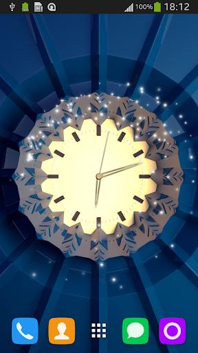 时钟直播3D壁纸
