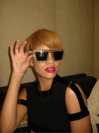 b12401b9c74f Rihanna s sunglasses  which style do you like best