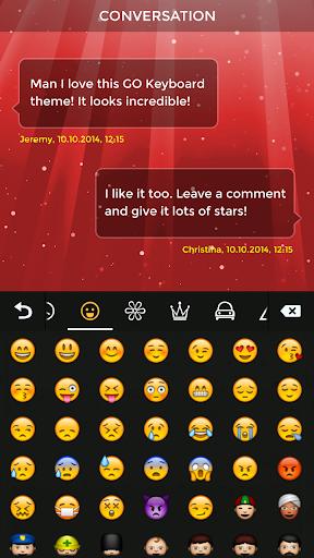 玩免費個人化APP|下載Red Keyboard app不用錢|硬是要APP