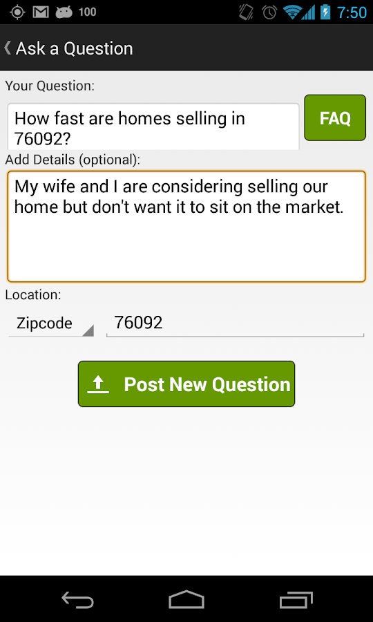 Real Estate Answers - screenshot
