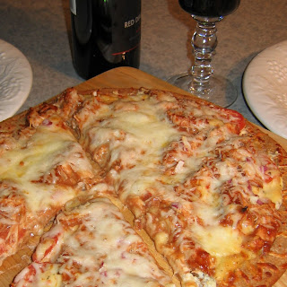 Tex-Italian Pizza for Two.