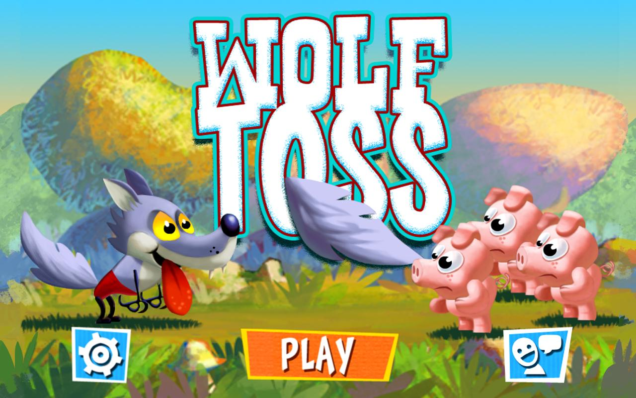 Wolf Toss - screenshot