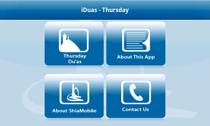 iDuas - Thursday - screenshot