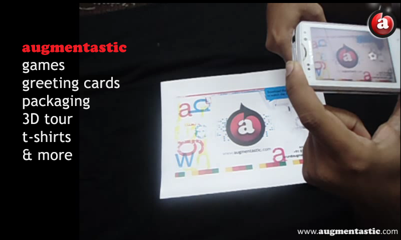 Augmentastic  Vcard - screenshot