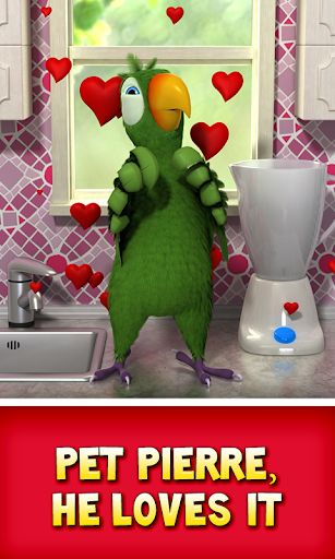Talking Pierre the Parrot 3.4 screenshots 5