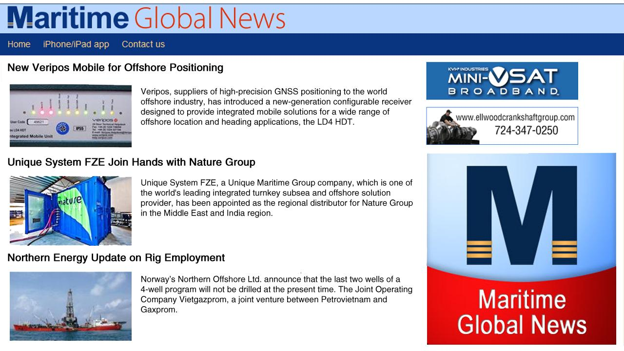 Maritime Global News- screenshot