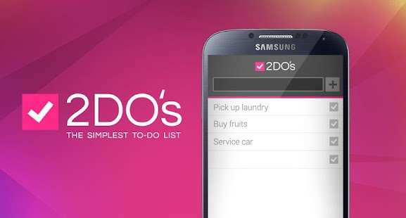 2DO's - Task & To Do List- screenshot thumbnail