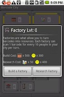 Screenshot of Barcode City