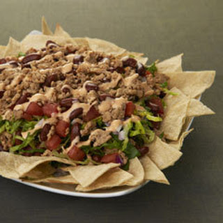 Buffalo Ranch Nacho Salad.