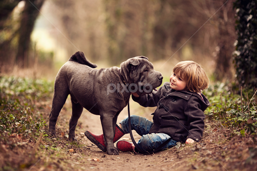My Best Friend by Claire Conybeare - Chinchilla Photography - Babies & Children Toddlers