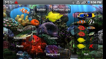 Screenshot of Aquarium Free Live Wallpaper