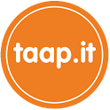 Taap.it – Rate Nearby Items logo