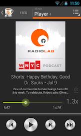 BeyondPod Podcast Manager Screenshot 4