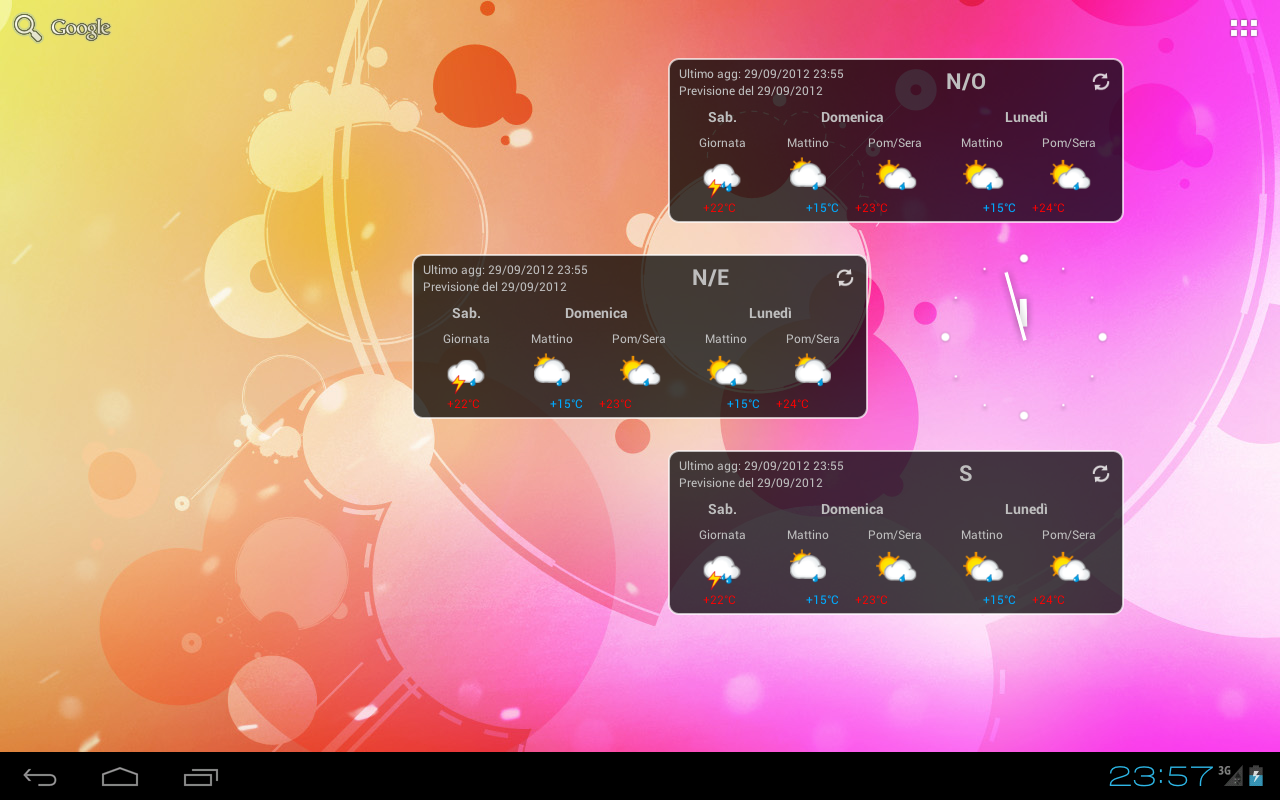 Trentino Meteo Widget- screenshot