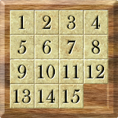 15 Puzzle Wooden