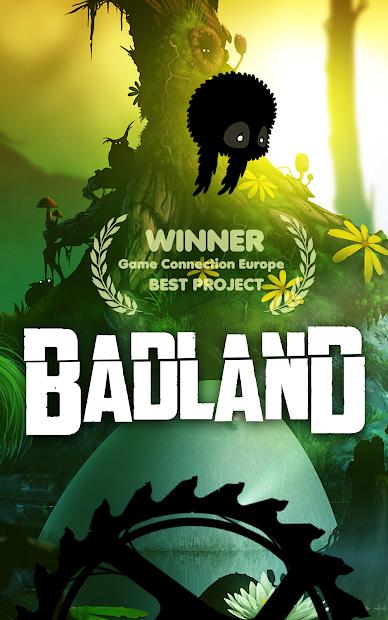 BADLAND Android App Screenshot