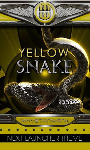 NEXT yellow snake theme
