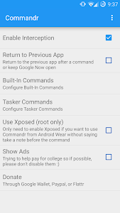 Commandr for Google Now v3.4.1
