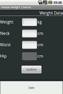 Simple Weight Control- screenshot thumbnail