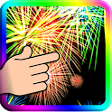 3D Fireworks Display LWP icon