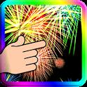 3D Fireworks Display LWP icon